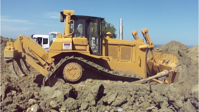 Sd7n working Bulldozer