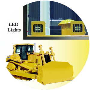led lights of dozer